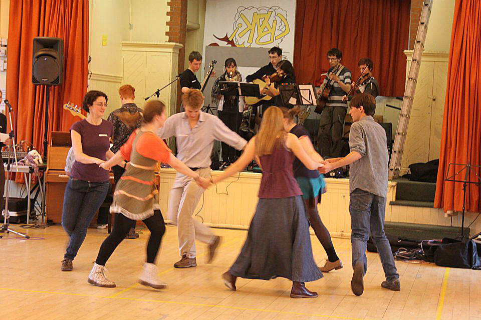 The 2012 Intervarsity Ceilidh with the OUCB