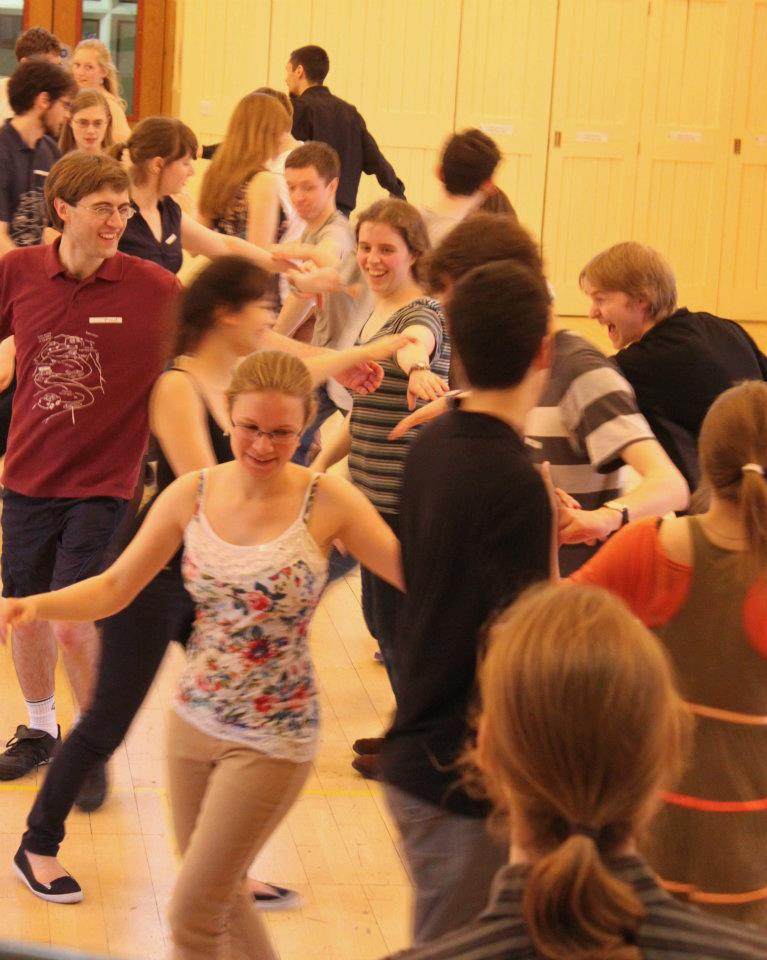 Dancers at the 2012 Intervarsity Ceilidh